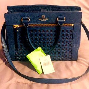 Navy rectangular Kate Spade purse ♠️